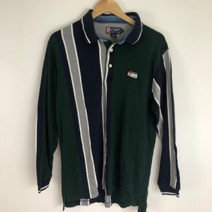 Vintage 90 Chaps x Polo Ralph Lauren striped rugby